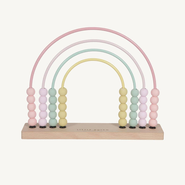 Little Dutch - Rainbow Abacus in Pink, Abacus, Little Dutch - All Mamas Children