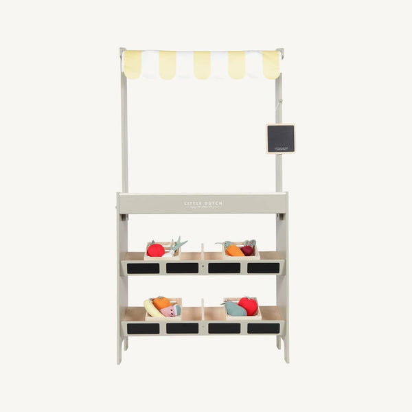 Little Dutch - Wooden Market Stall, Pretend Play, Little Dutch - All Mamas Children