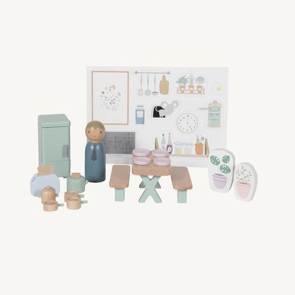 Little Dutch - Doll's House Kitchen Playset - All Mamas Children