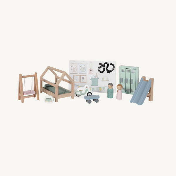 Little Dutch - Doll's House Children's Room Playset - All Mamas Children