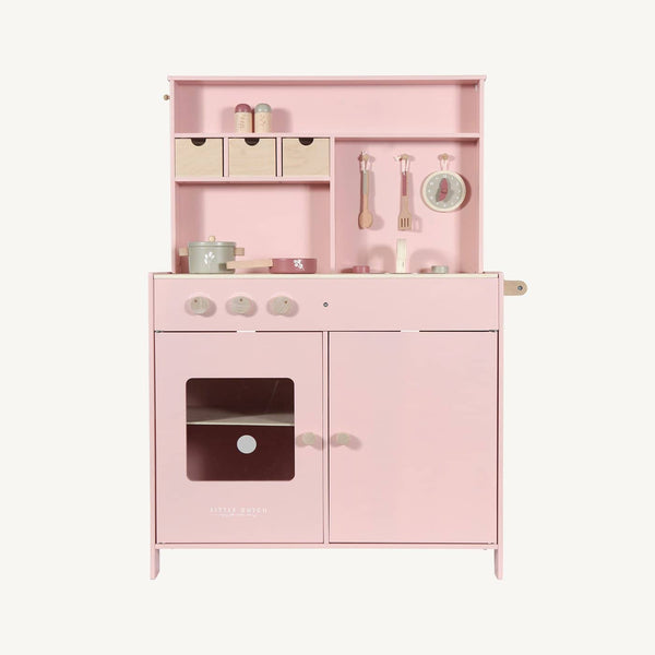 Little Dutch - Wooden Kitchen in Pink, Pretend Play, Little Dutch - All Mamas Children
