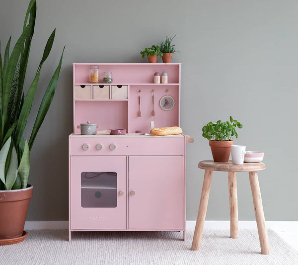 Little Dutch - Wooden Kitchen in Pink