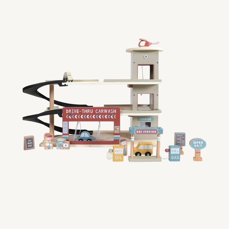 Little Dutch - Railway extension Garage, Pretend Play, Little Dutch - All Mamas Children