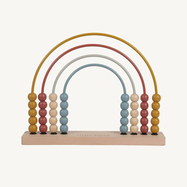 Little Dutch - Rainbow Abacus Pure & Nature, Abacus, Little Dutch - All Mamas Children