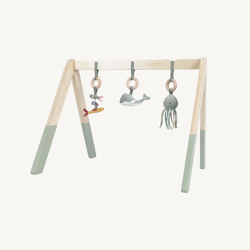 Little Dutch - Wooden Baby Gym in Ocean Mint - All Mamas Children