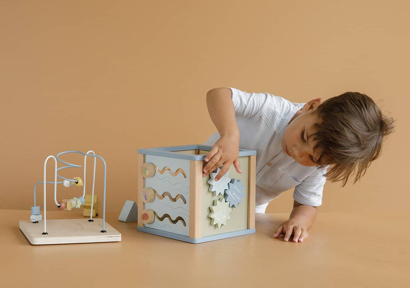 Little Dutch - Wooden Activity Cube Ocean - All Mamas Children