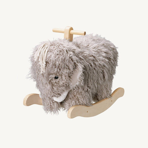 This adorable rocking 'Neo' Mammoth by Kids Concept is a beautiful and unique addition to any nursery or kids room.
