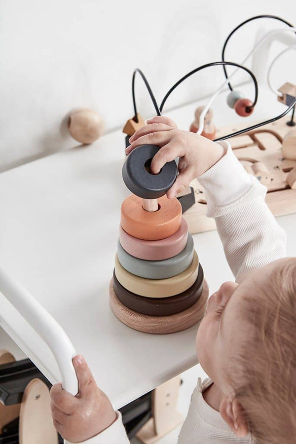 Kid's Concept - Neo Wooden Stacking Toy, Stacking Toy, Kids Concept - All Mamas Children