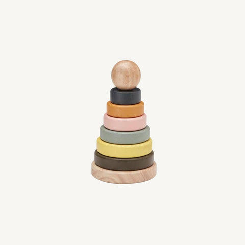Wooden Stacking Toy - Neo Neutrals