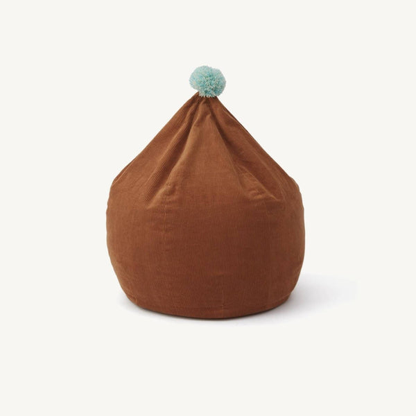 OYOY - Corduroy Beanbag in Caramel, Beanbag, OYOY - All Mamas Children