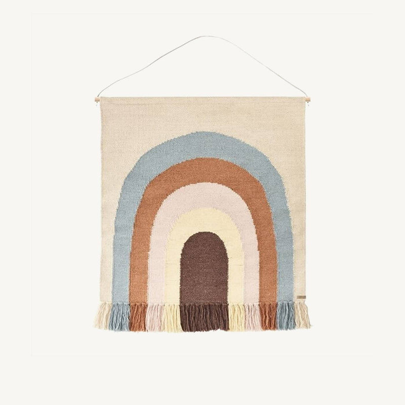 OYOY - Follow The Rainbow Wall Rug, Wall Rug, OYOY - All Mamas Children