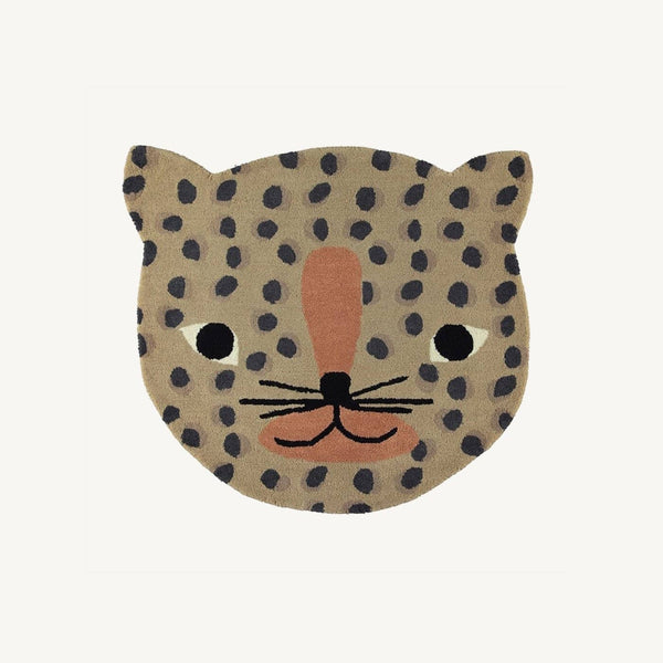 OYOY - Leopard Rug in Camel - All Mamas Children