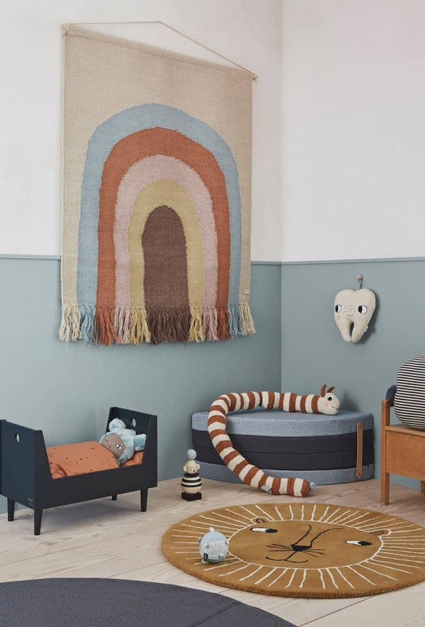 OYOY - Lion Rug in Caramel - All Mamas Children