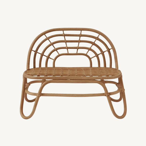 OYOY - Rainbow Rattan Mini Bench - All Mamas Children