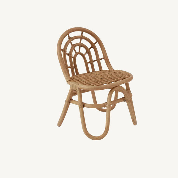OYOY - Rainbow Rattan Mini Chair - All Mamas Children