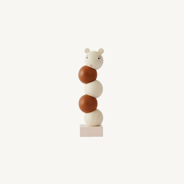 OYOY - Wooden Stacking Lala Toy (new but with some minor damage to packaging), Stacking Toy, OYOY - All Mamas Children