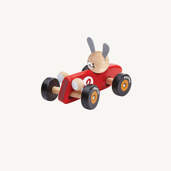 Plan Toys Rabbit Racing Car, Car, Plan Toys - All Mamas Children