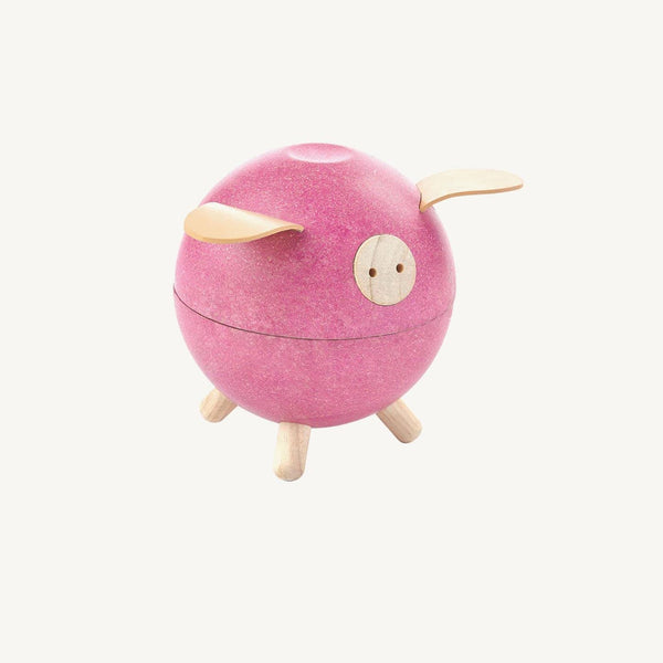 Plan Toys Piggy Bank In Pink, Toys, Plan Toys - All Mamas Children