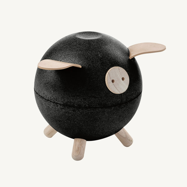 Plan Toys - Piggy Bank In Black, Toys, Plan Toys - All Mamas Children