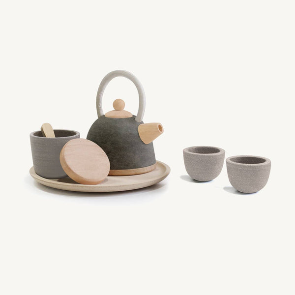 Plan Toys - Oriental Tea Set, Pretend Play, Plan Toys - All Mamas Children