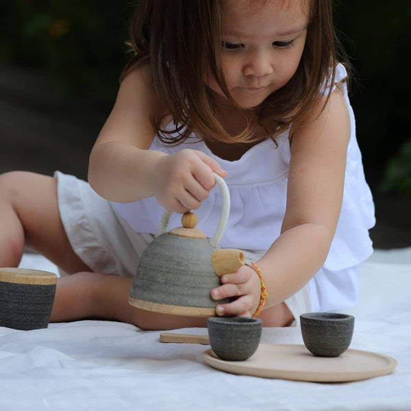 Plan Toys - Oriental Tea Set - All Mamas Children