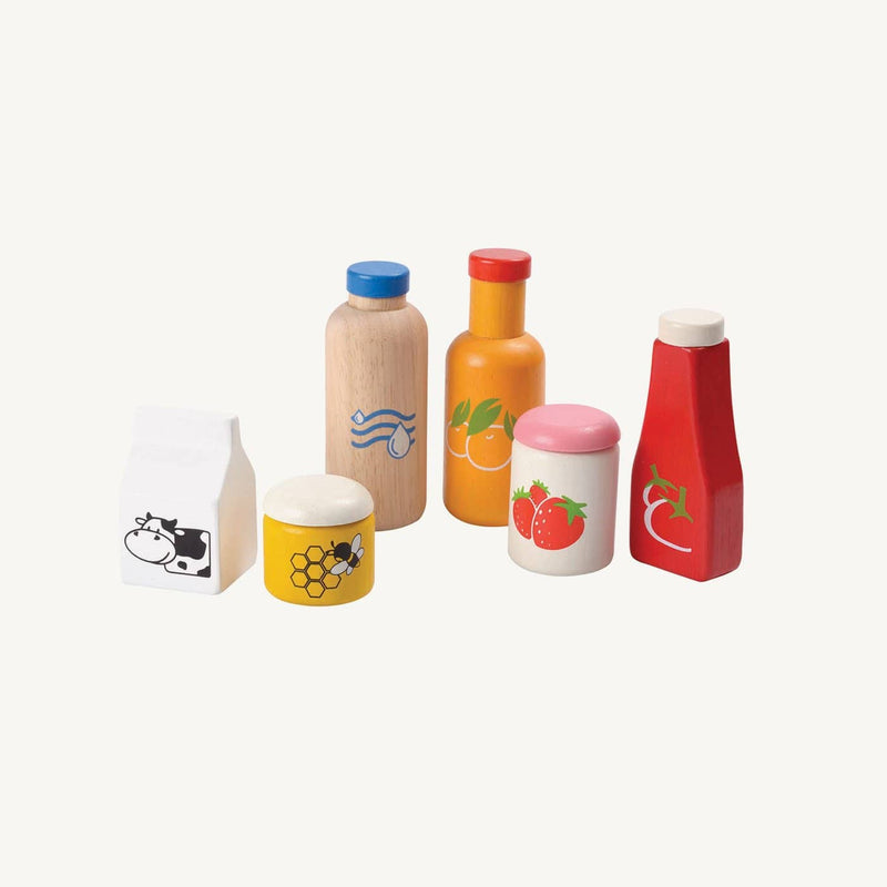 Plan Toys - Food and Beverage Set - All Mamas Children