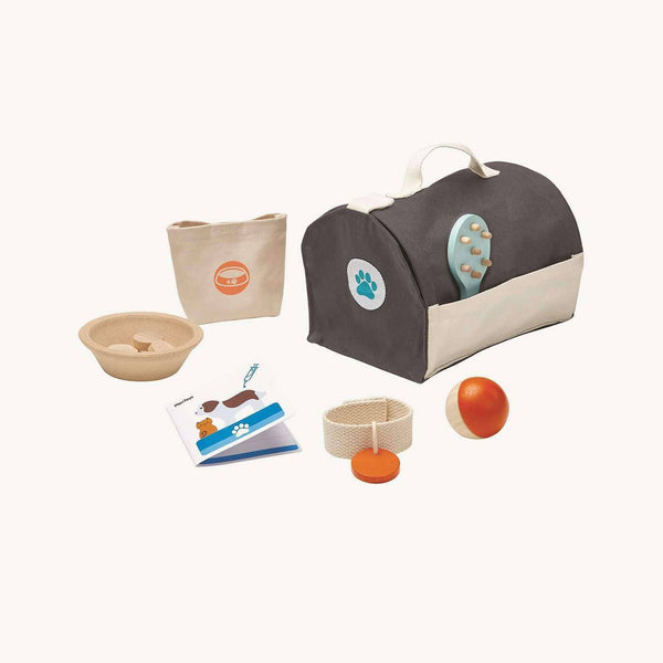 Plan Toys Pet Care Set, Toys, Plan Toys - All Mamas Children