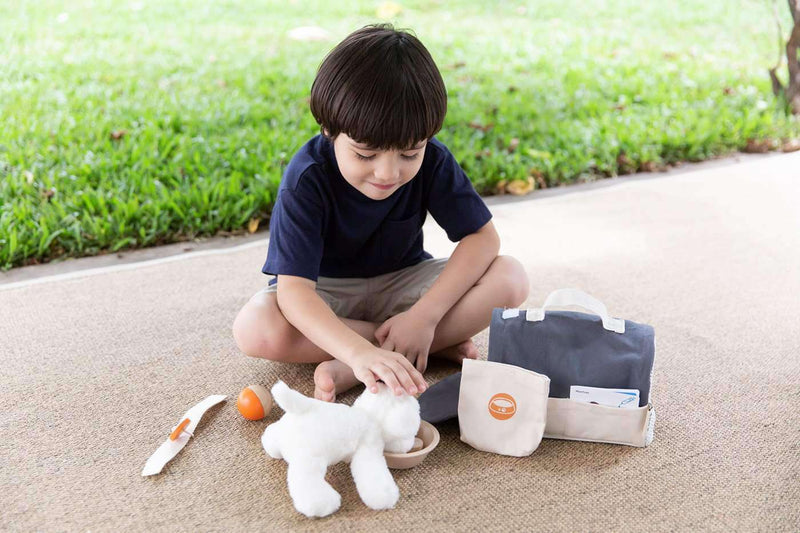Plan Toys - Pet Care Set, Toys, Plan Toys - All Mamas Children