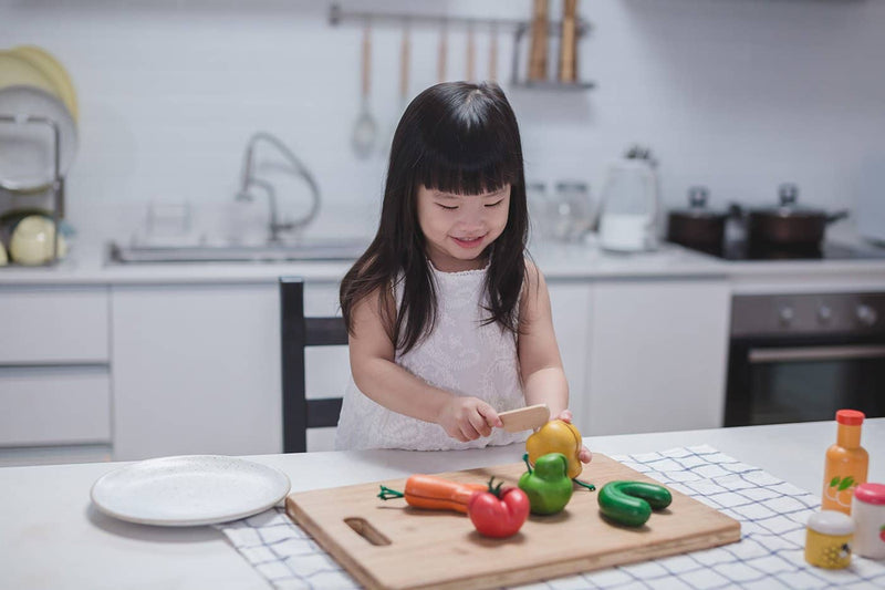 Plan Toys - Wonky Fruit & Vegetables - All Mamas Children