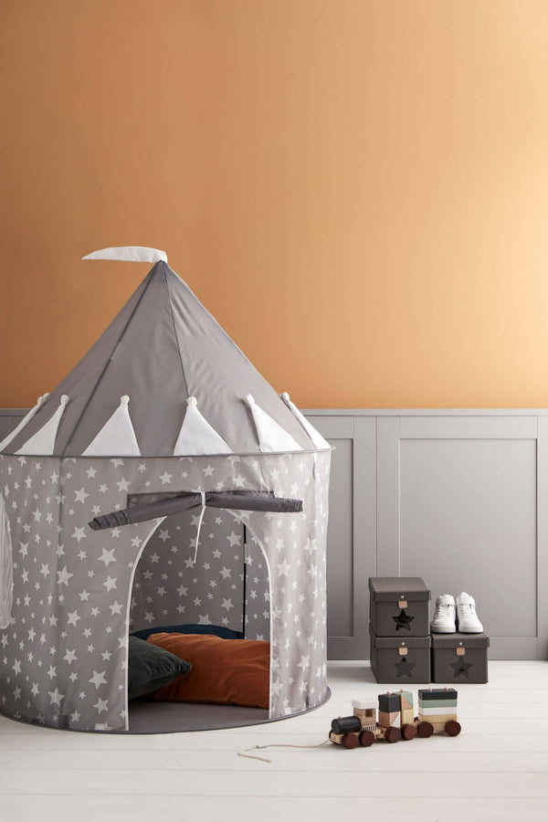 Kid's Concept - Star Grey Play Tunnel, Play Tunnel, Kids Concept - All Mamas Children