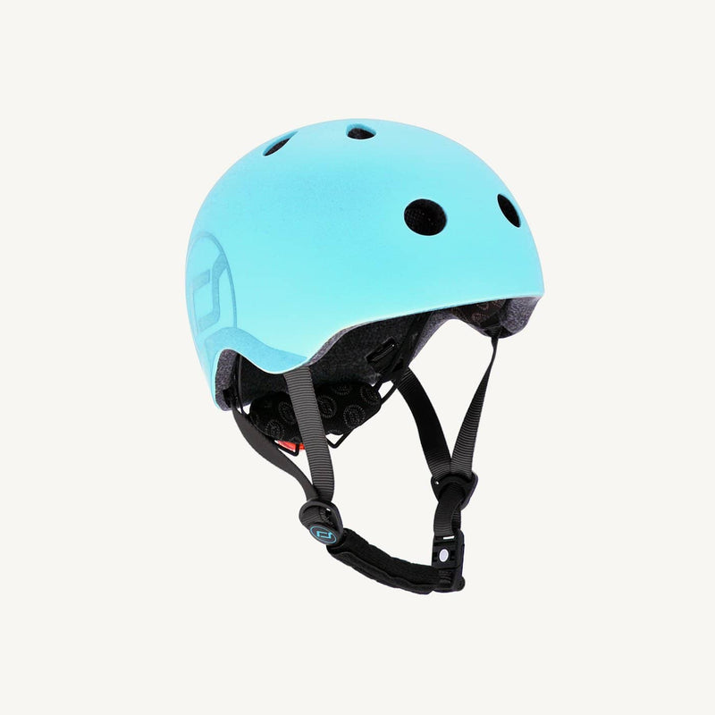 Scoot and Ride Helmet with LED Light S/M - Blueberry, Helmet, Scoot and Ride - All Mamas Children