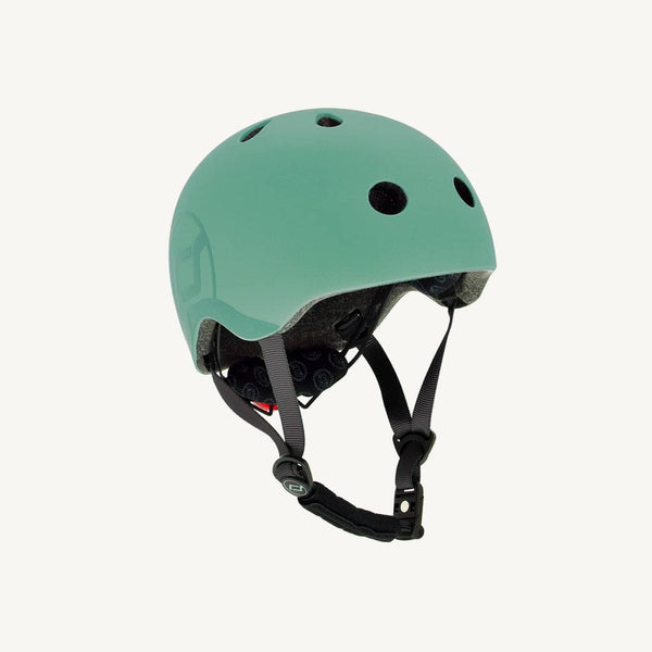 Scoot and Ride Helmet with LED Light S/M (3-5 years) - Forest, Helmet, Scoot and Ride - All Mamas Children