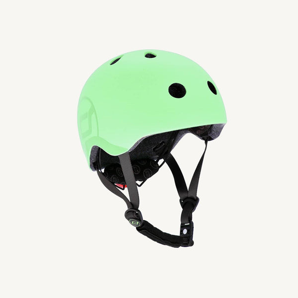 Scoot and Ride Helmet with LED Light S/M (3-5 years) - Kiwi, Helmet, Scoot and Ride - All Mamas Children