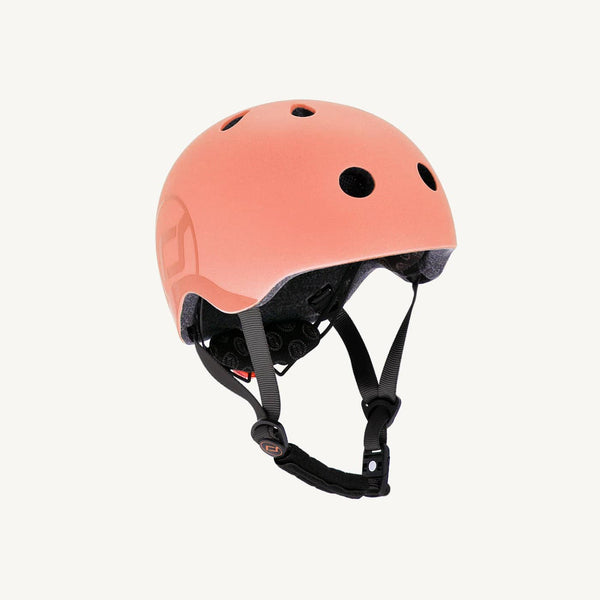 Scoot and Ride Helmet with LED Light S/M - Peach - All Mamas Children
