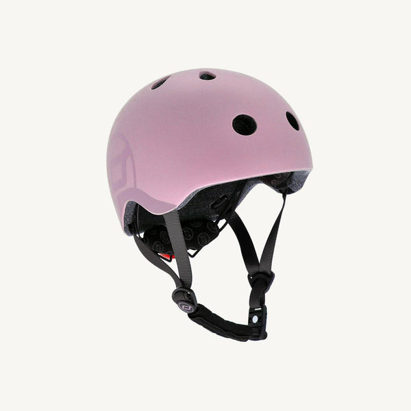 Scoot and Ride Helmet with LED Light S/M - Rose - All Mamas Children