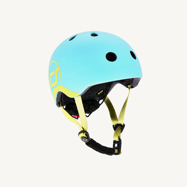 Scoot and Ride Helmet with LED Light XS/S - Blueberry - All Mamas Children