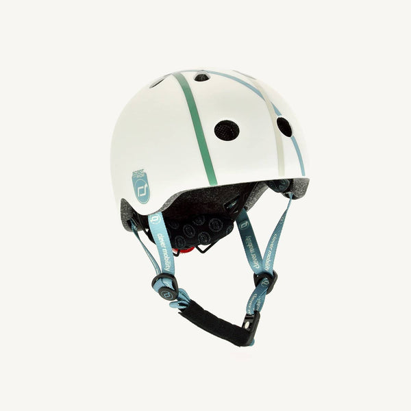 Scoot and Ride Helmet with LED Light XS/S (1-3 years) - Cross Line, Helmet, Scoot and Ride - All Mamas Children