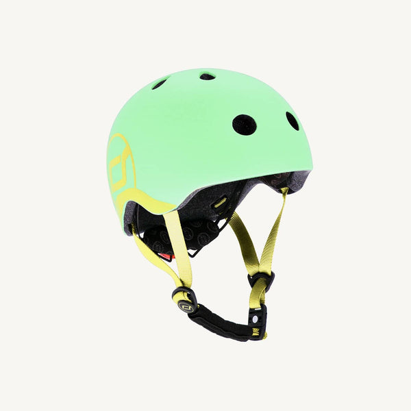Scoot and Ride Helmet with LED Light XS/S (1-3 years) - Kiwi, Helmet, Scoot and Ride - All Mamas Children