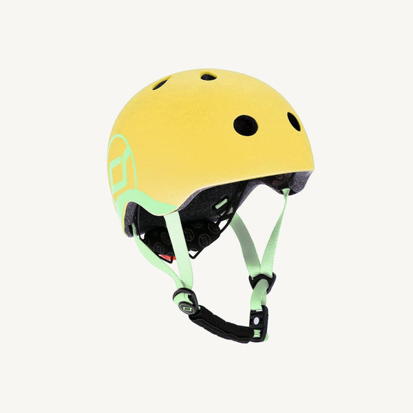 Scoot and Ride Helmet with LED Light XS/S - Lemon - All Mamas Children