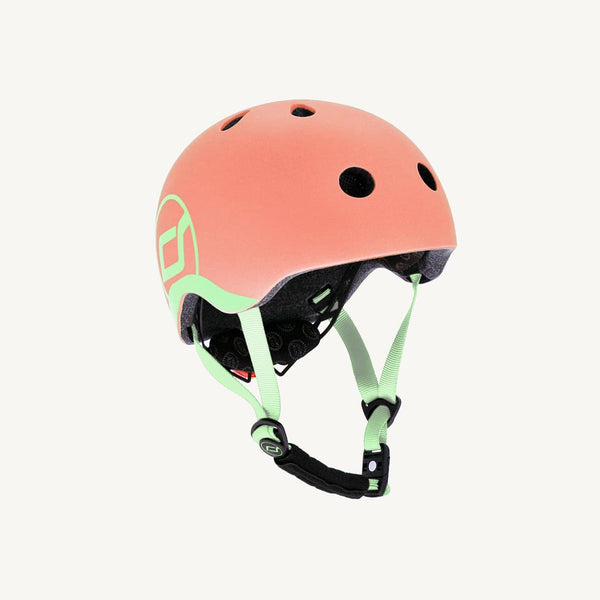 Scoot and Ride Helmet with LED Light XS/S  - Peach - All Mamas Children