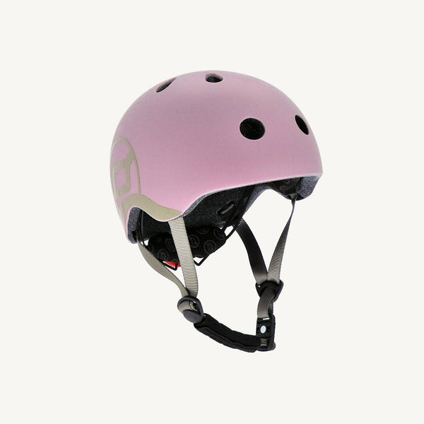 Scoot and Ride Helmet with LED Light XS/S (1-3 years) - Rose, Helmet, Scoot and Ride - All Mamas Children