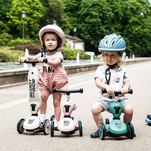 Scoot and Ride 2 in 1 Balance Bike / Scooter - Highwaykick 1 in Ash, Scooter, Scoot and Ride - All Mamas Children