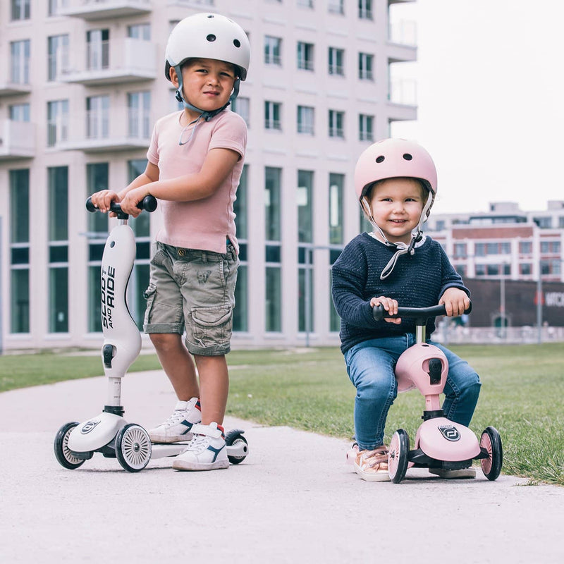 Scoot and Ride 2 in 1 Balance Bike / Scooter - Highwaykick 1 in Ash - All Mamas Children