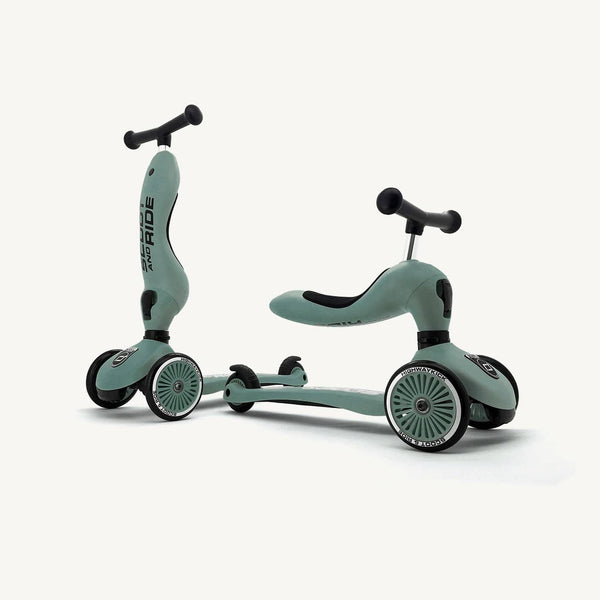 Scoot and Ride 2 in 1 Balance Bike / Scooter - Highwaykick 1 in Forest - All Mamas Children