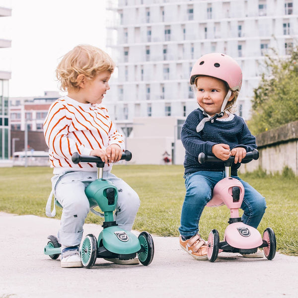 Scoot and Ride 2 in 1 Balance Bike / Scooter - Highwaykick 1 in Forest, Scooter, Scoot and Ride - All Mamas Children