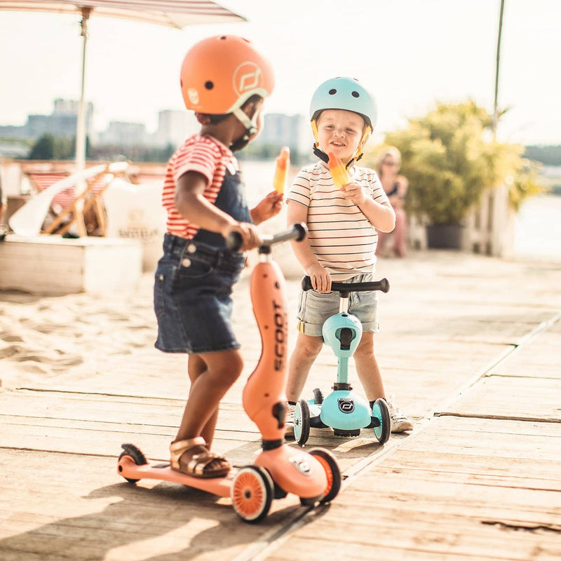 Scoot and Ride 2 in 1 Balance Bike / Scooter - Highwaykick 1 in Peach, Scooter, Scoot and Ride - All Mamas Children