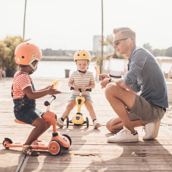 Scoot and Ride 2 in 1 Balance Bike / Scooter - Highwaykick 1 in Peach - All Mamas Children