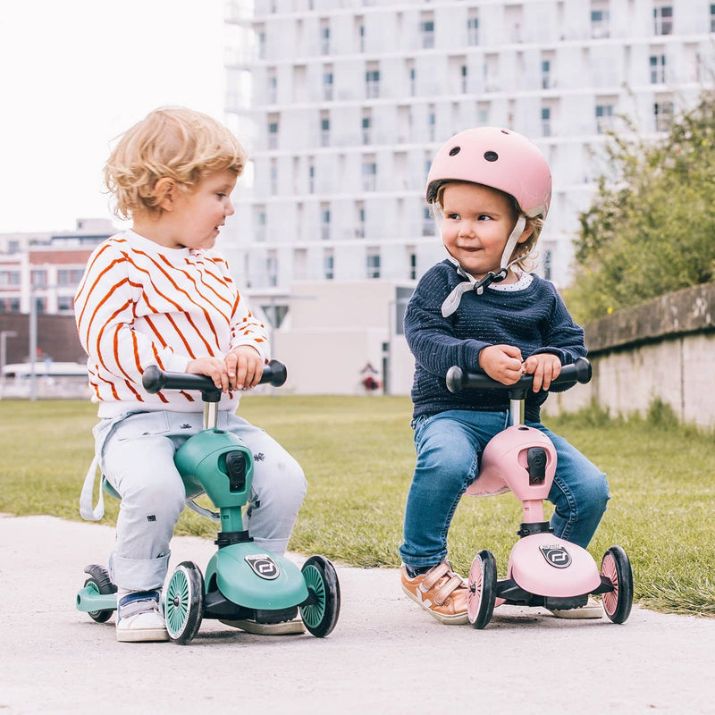 Scoot and Ride 2 in 1 Balance Bike / Scooter - Highwaykick 1 in Rose, Scooter, Scoot and Ride - All Mamas Children