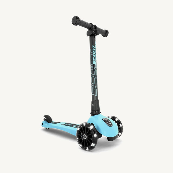 Scoot and Ride Scooter - Highwaykick 3 LED in Blueberry - All Mamas Children