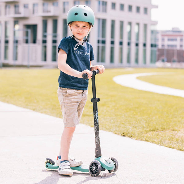 Scoot and Ride Scooter - Highwaykick 3 LED in Forest - All Mamas Children
